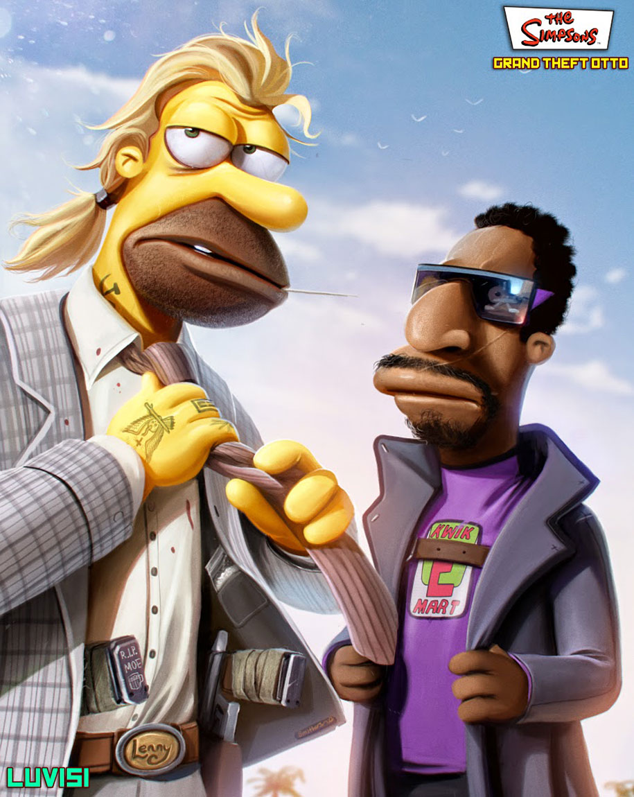Gta 5 Cartoon Characters : Your favorite childhood cartoon characters turned into