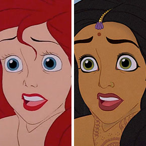 Artist Shows How Disney Princesses Would Look As Different Ethnicities