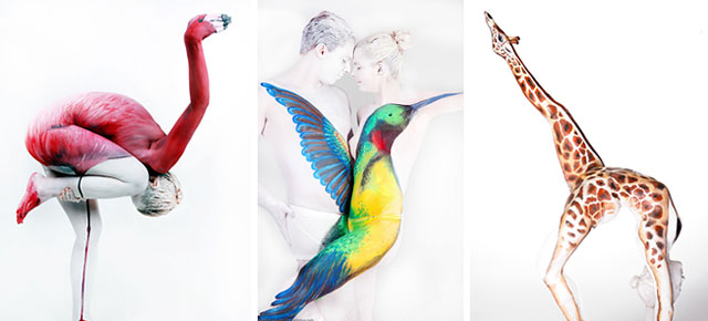 22 Masterful Body Paintings That Disguise Humans As Animals Demilked