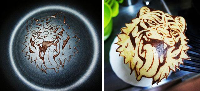 Pancake Art Demilked