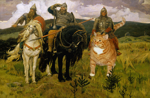 fat-cat-zarathustra-classical-paintings-svetlana-petrova-4