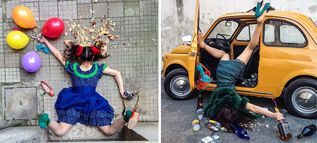 30 Brilliant Photos of People Posing As If They Have Just