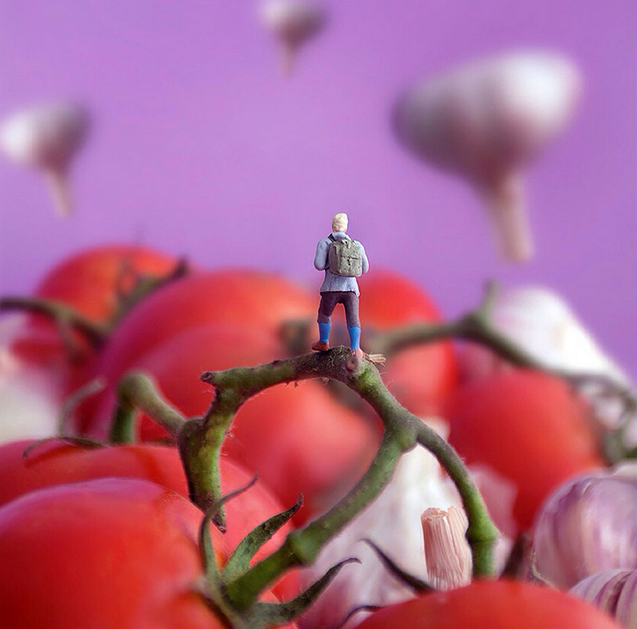 Tiny People's Adventures In A World Of Food