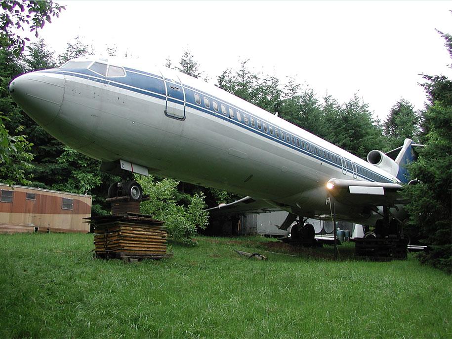 eski boeing-727-geri dönüşümlü-düzlem-ev-bruce-Campbell-17