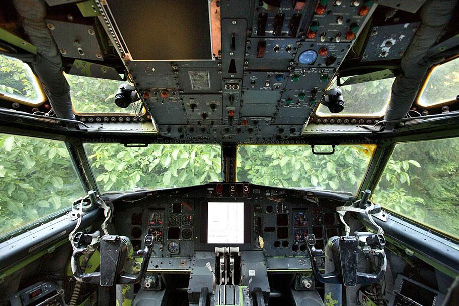 eski boeing-727-geri dönüşümlü-düzlem-ev-bruce-Campbell-8