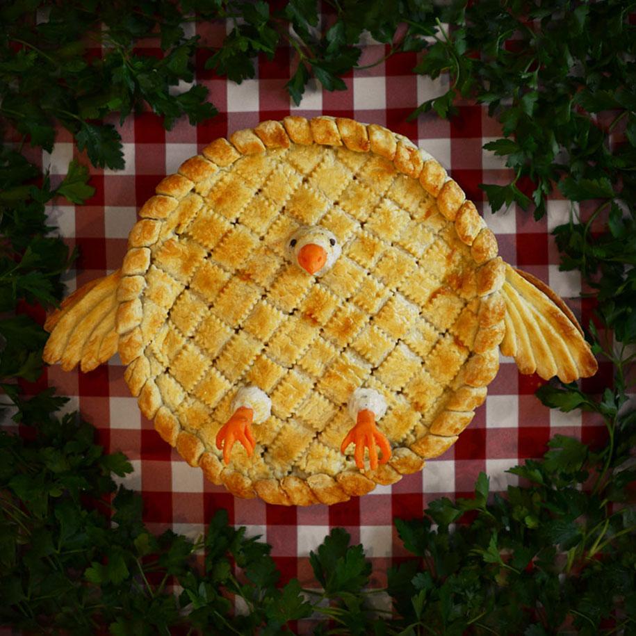 Фото пироги необычной формы