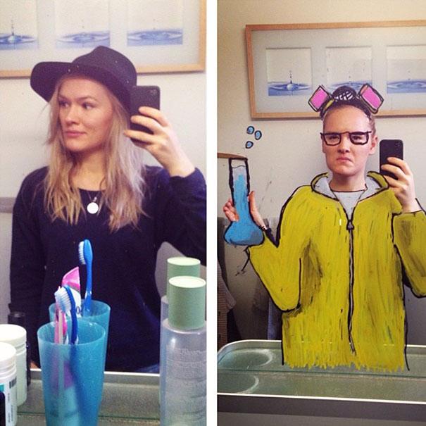bathroom-mirror-selfies-funny-illustration-art-mirrorsme-15