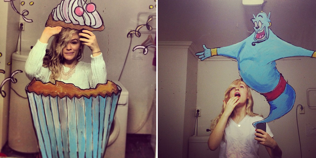 This Girl Takes Mirror Selfies To The Next Level Demilked