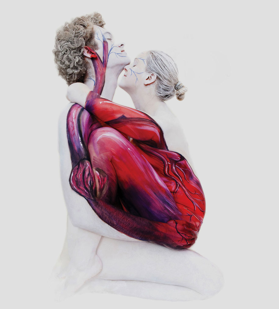 Unbelievable Body Art By Gesine Marwedel Turns People Into ...