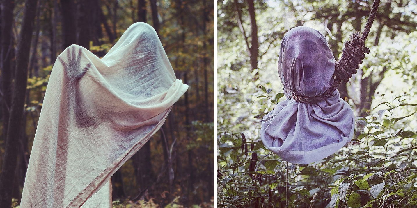 These Creepy Photographs Of Faceless People Are About To