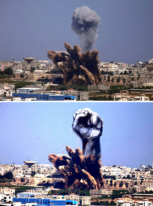 palestine-israel-rocket-strike-smoke-pareidolia-art-1