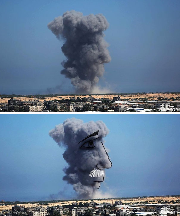 palestine-israel-rocket-strike-smoke-pareidolia-art-6