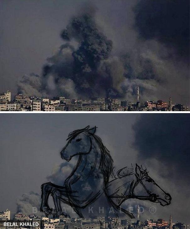 palestine-israel-rocket-strike-smoke-pareidolia-art-9