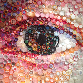 Hundreds Of Plastic Bottle Caps Turned Into Stunning Images By Mary Ellen Croteau