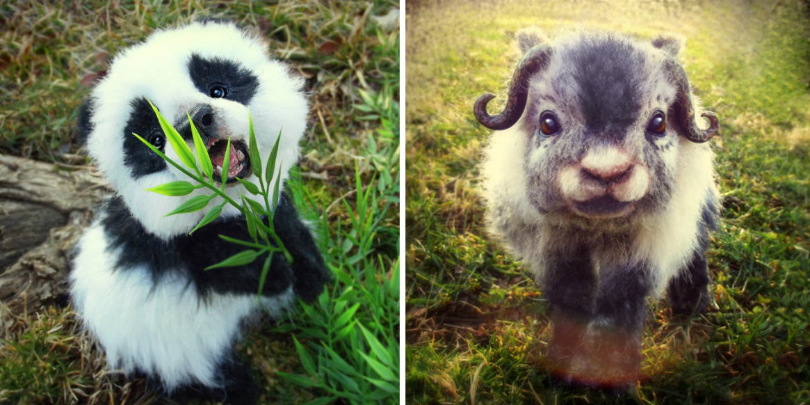 These Baby Animals Are Actually Incredibly Realistic Plushies