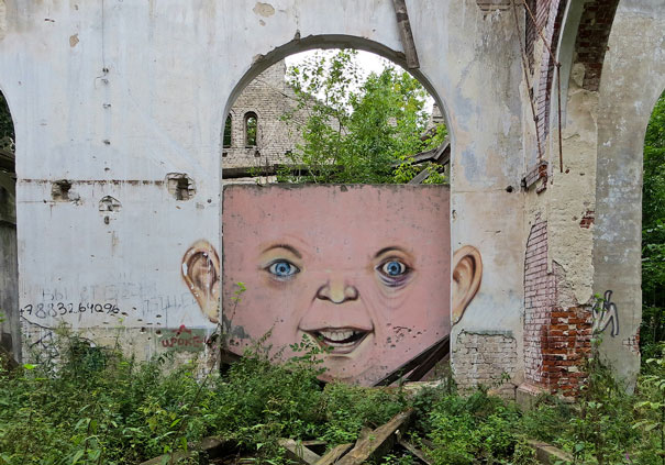This Is What Happens When Street Art Meets Nature - Artist creates clever street art installations that interact with their surroundings