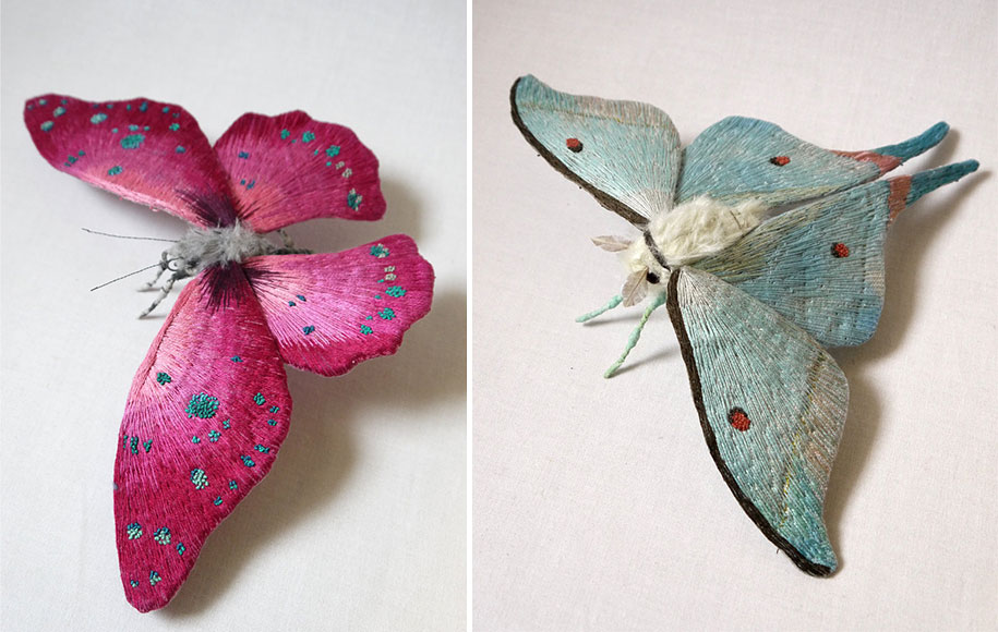 textile-art-fabric-sculptures-insects-moths-butterflies-yumi-okita-21