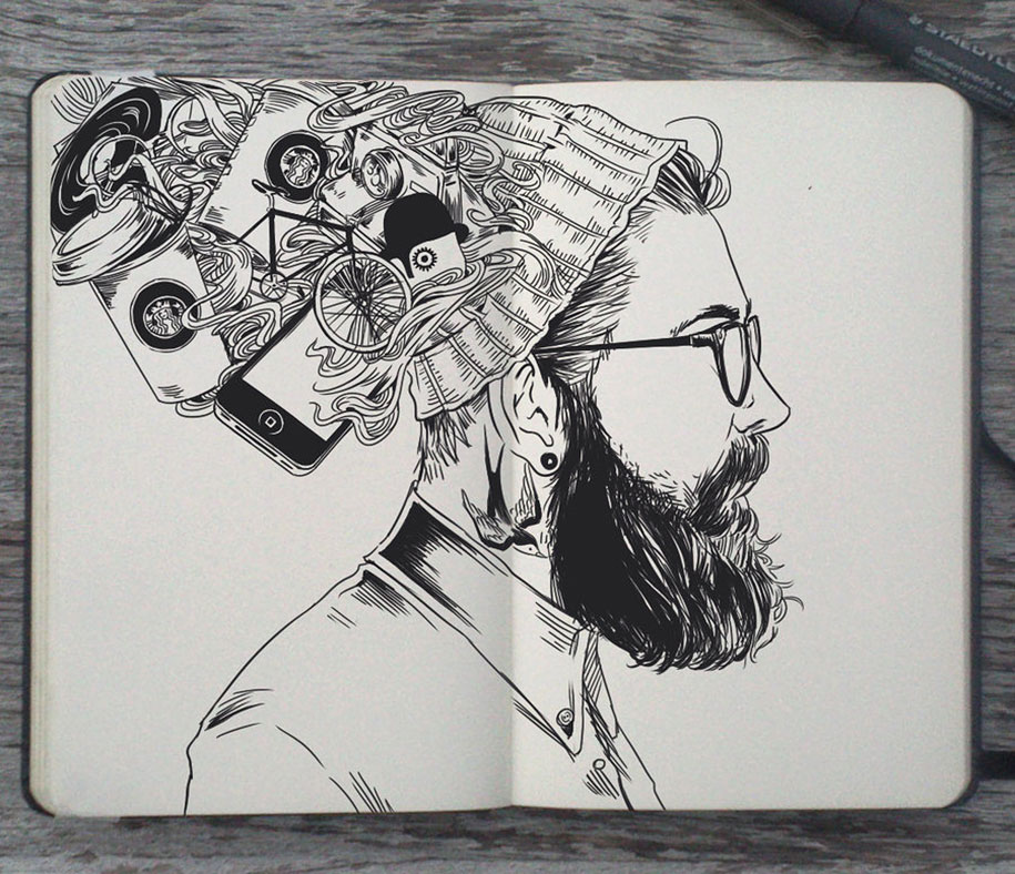 365 Project: Artist Doodles One Illustration A Day For The ...