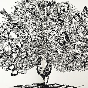 doodles that cleverly interact with their environment