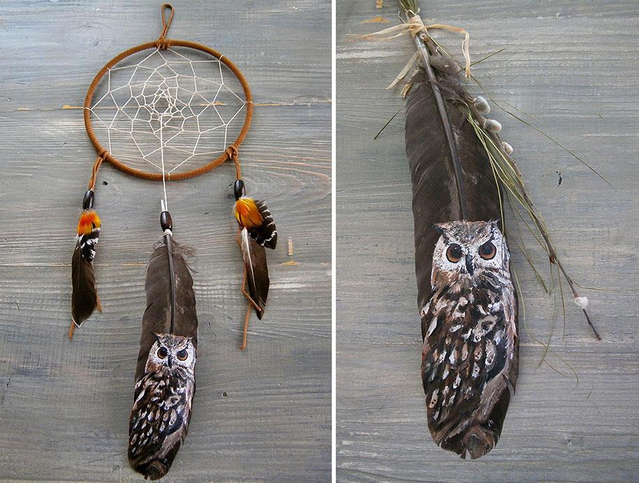 animal-bird-painting-feathers-oil-acrylic-paint-jamie-homeister-10