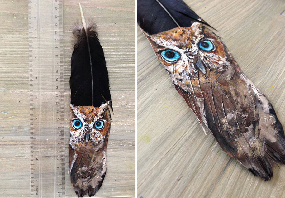 animal-bird-painting-feathers-oil-acrylic-paint-jamie-homeister-14