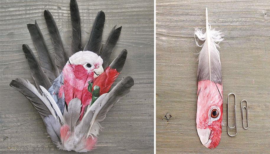 animal-bird-painting-feathers-oil-acrylic-paint-jamie-homeister-20