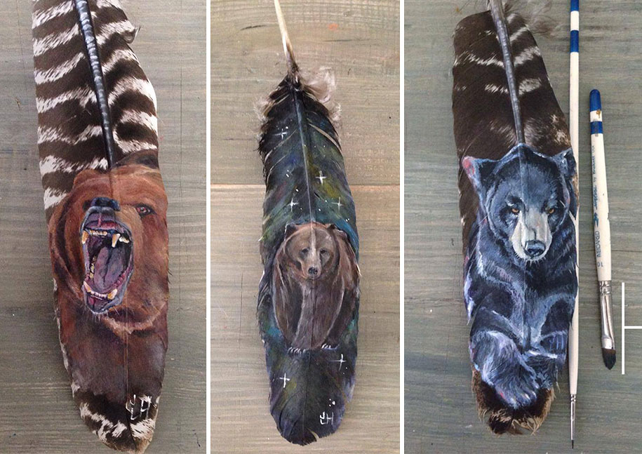animal-bird-painting-feathers-oil-acrylic-paint-jamie-homeister-8