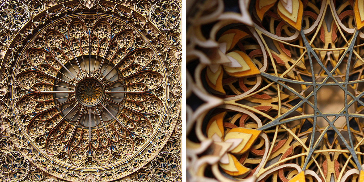 New Intricate Laser Cut Paper Art By Eric Standley - Beautiful laser cut paper art eric standley