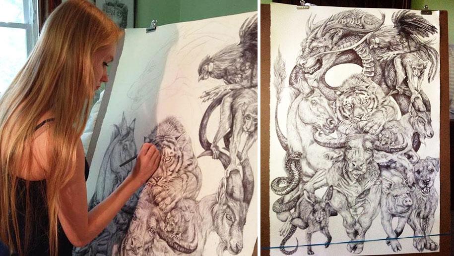 chinese-zodiac-animals-giant-drawing-casterlyrock-savannah-burgess-17