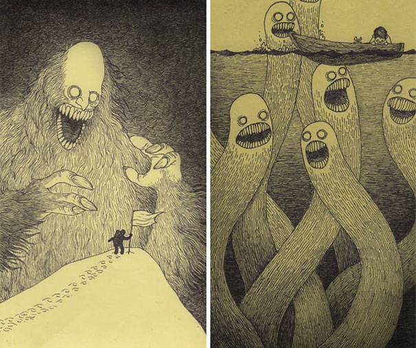 creepy-childhood-monsters-sticky-notes-don-kenn-2