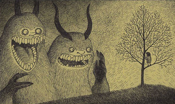 creepy-childhood-monsters-sticky-notes-don-kenn-21