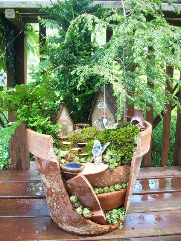 diy-broken-pot-fairy-garden-4
