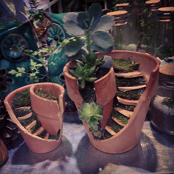 diy-broken-pot-fairy-garden-5