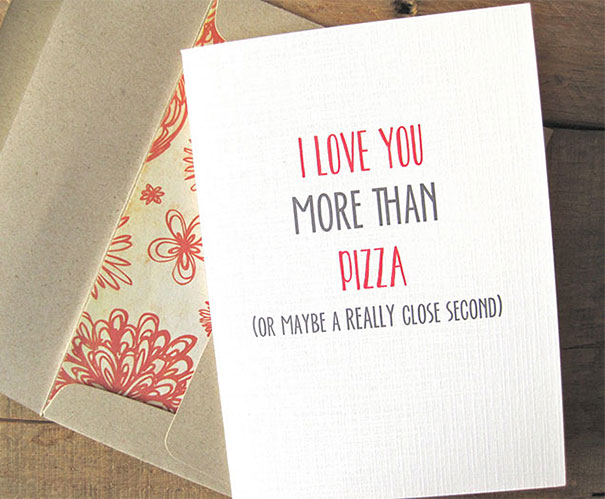Funny Love Confession Greeting Cards 20