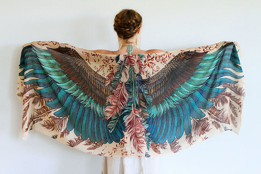 handmade-birds-wings-feather-scarves-shovava-3