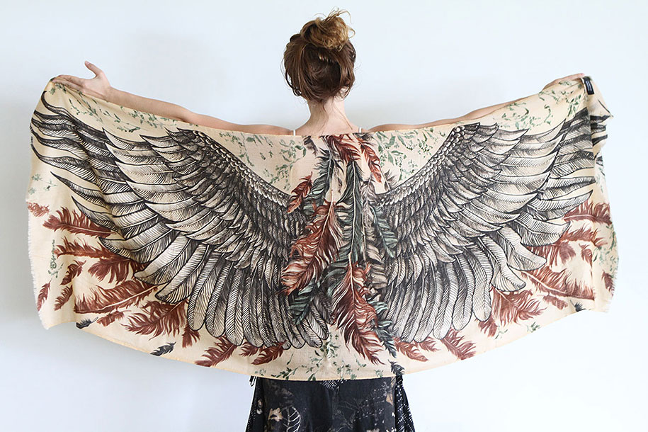handmade-birds-wings-feather-scarves-shovava-7