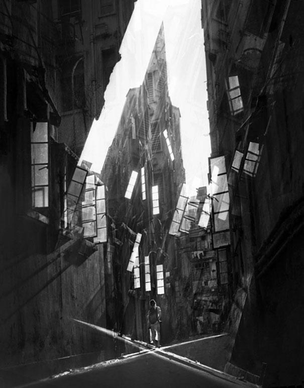hong-kong-black-and-white-street-photography-ho-fan-18
