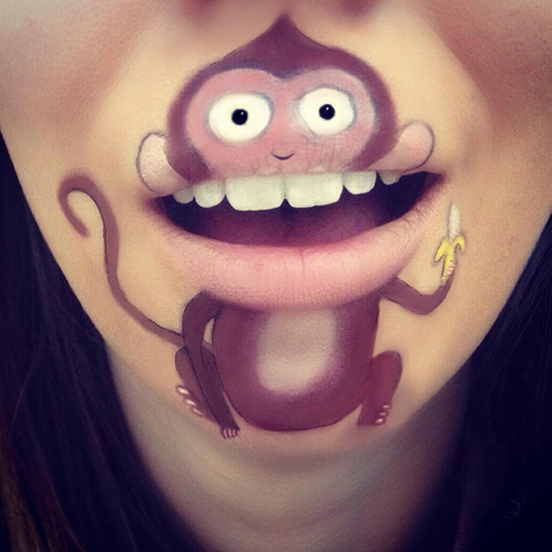makeup-art-lips-cartoon-character-illustrations-laura-jenkinson-27