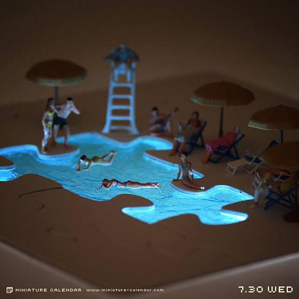 miniature-calendar-diorama-art-tanaka-tatsuya-3