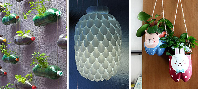 23 creative diy ideas for how to reuse plastic bottles for Best out of waste ideas from plastic bottles for kids