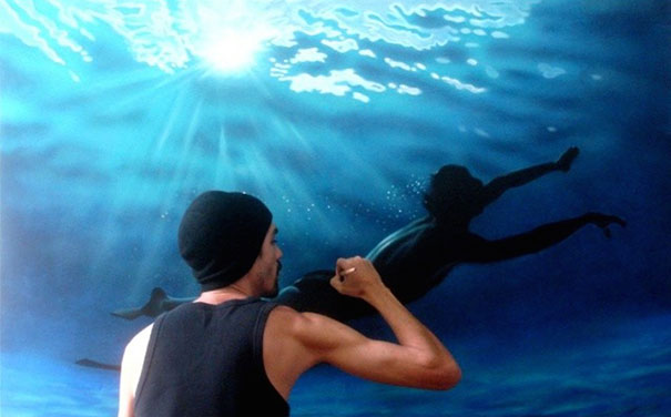realistic-paintings-water-swimming-people-gustavo-silva-nunez-1