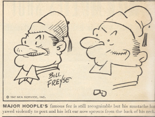 Ten Comic Strip Artists In The 40s Were Asked To Draw