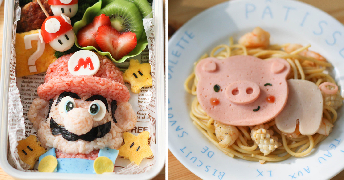 Mother of two creates adorable bento lunches for her sons for Creation cuisine