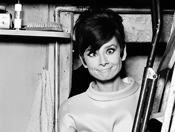 Rare Photos Of Iconic Actress Audrey Hepburn Off Of The Silver Screen