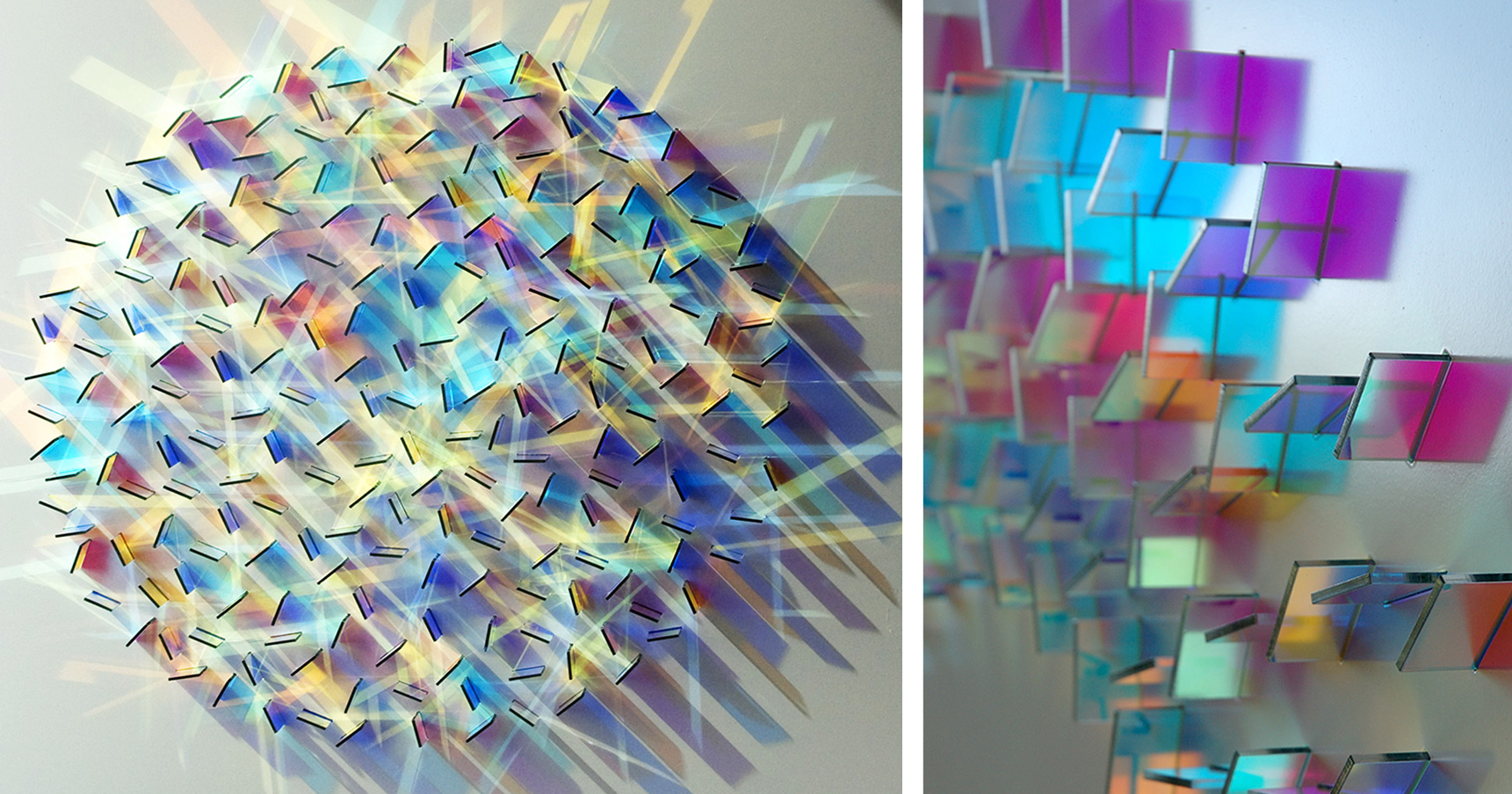 Mesmerizing Glass And Light Installations By Chris Wood