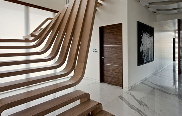 22 brilliant ways to reinvent the stairs demilked - How much do interior designers make a year ...