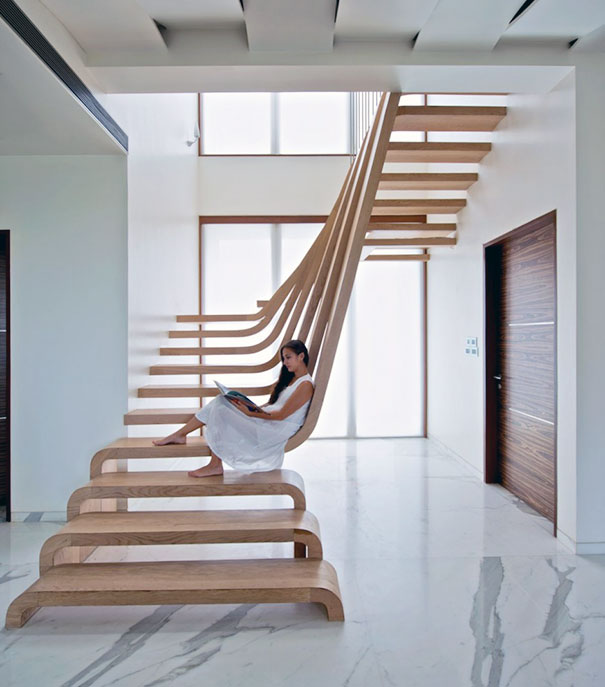 22 brilliant ways to reinvent the stairs - Interior ladder stair design ...