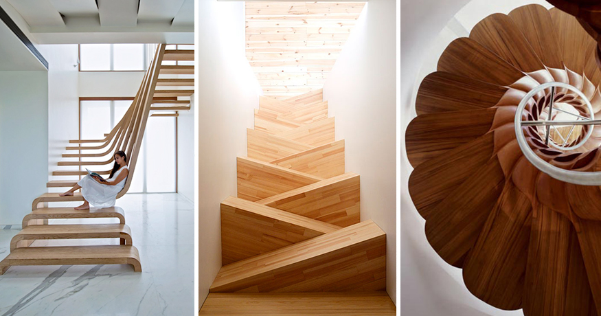22 Brilliant Ways To Reinvent The Stairs Demilked