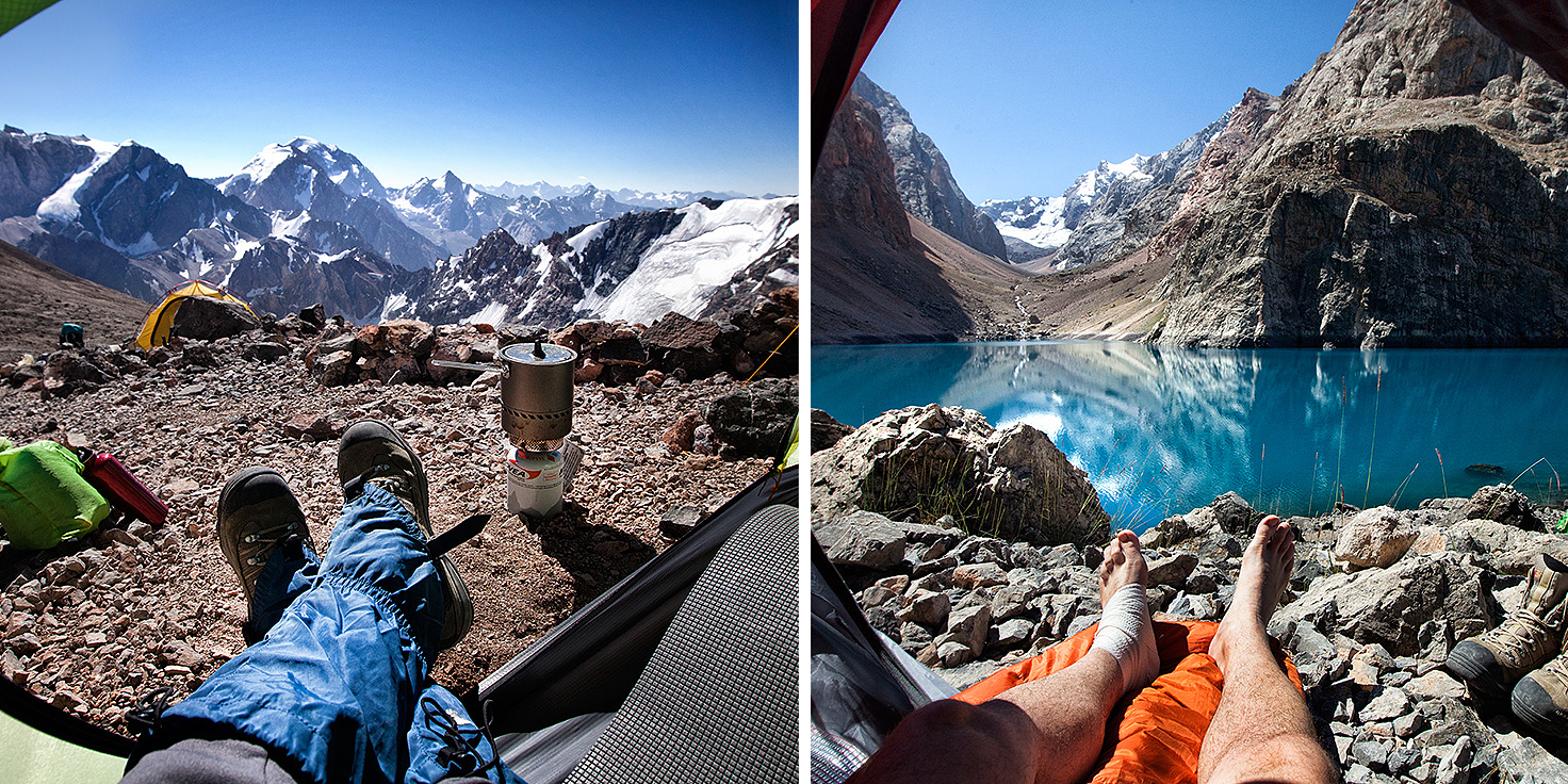 Goood Morning! Photographer Captures Stunning Mountain Landscapes From His Tent