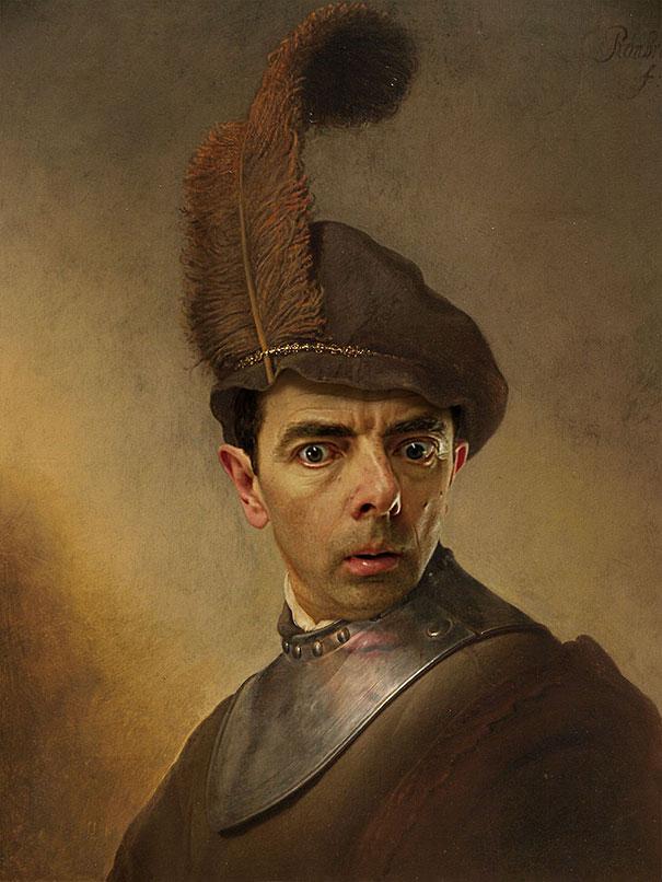 mr-bean-rowan-atkinson-historic-portraits-recreations-rodney-pike-1